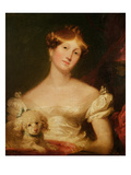 The Duchess of Sussex (Oil on Canvas) Giclee Print by Sir Thomas Lawrence