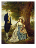 Mr and Mrs Fraser, C.1785-90 (Oil on Canvas) Giclee Print by Arthur William Devis