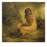 Indian Girl, 1793 Giclee Print by George Morland