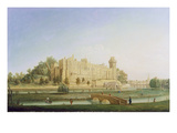 Warwick Castle, C.1764 (Oil on Canvas) Giclee Print by Francis Harding