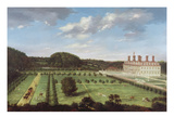 A View of Bayhall, Pembury, Kent, c.1675 Giclee Print by Jan Siberechts