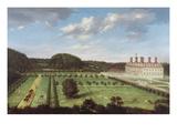 A View of Bayhall, Pembury, Kent, c.1675 Giclee Print by Jan Siberechts