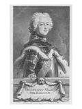 Friedrich Ii, King of Prussia, Engraved by Georg Friedrich Schmidt, 1746 (Engraving) Giclee Print by Antoine Pesne