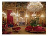 The Great Drawing Room of the Napoleon Iii Apartments, C.1861 (Colour Photo) Giclee Print