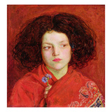 The Irish Girl, 1860 (Oil on Canvas Laid Down on Board) Giclee Print by Ford Madox Brown