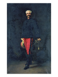 General Gaston Auguste (1830-1909) Marquis De Gallifet Giclee Print by Georges Becker