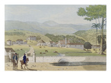 Montpelier Estates, St James, from 'A Picturesque Tour of the Island of Jamaica' Giclee Print by James Hakewill