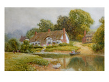 The Ferry Giclee Print by Arthur Claude Strachan