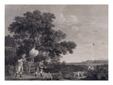 Shooting, Plate 3, Engraved by William Woollett (1735-85) 1770 (Engraving with Etching) Giclee Print by George Stubbs
