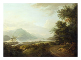 Loch Awe, Argyllshire, c.1780-1800 Premium Giclee Print by Alexander Nasmyth