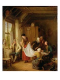 The Pedlar, 1814 (Oil on Panel) Giclee Print by Sir David Wilkie