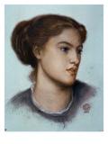 Ellen Smith, 1867 Giclee Print by Dante Gabriel Rossetti