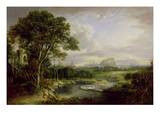 View of the City of Edinburgh, c.1822 Premium Giclee Print by Alexander Nasmyth