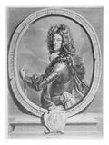 Maximilian Ii Emanuel, Elector of Bavaria, Engraved by Cornelis Vermeulen (Engraving) Giclée-Druck von Joseph Vivien