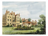 North Front, Old Palace, from the Queen's Garden, Plate 5 Giclee Print by George Ernest Papendiek