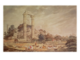 Temple of Apollo at Didyma (W/C) Giclee Print by William Pars