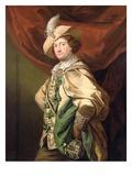 Henry Woodward as Petruchio, c.1773-74 Giclee Print by Benjamin van der Gucht