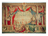 The Month of February, from the Series of Tapestries 'The Months or Royal Residences' Giclee Print by Charles Le Brun