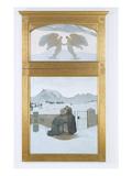 Religious Comfort, 1897 Giclee Print by Giovanni Segantini