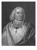 Jacques Bossuet, Engraved by Richard Woodman (Engraving) Giclee Print by Hyacinthe Rigaud