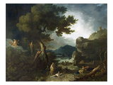 The Destruction of Niobe's Children, 1760 (Oil on Canvas) Reproduction procédé giclée par Richard Wilson