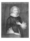 Mary Sidney, Countess of Pembroke, Engraved by W.J.Fry (Engraving) Giclee Print by Marcus, The Younger Gheeraerts