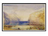 Fluelen: Morning (Looking Towards the Lake) 1845 Giclee Print by J. M. W. Turner