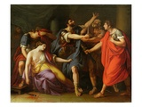 The Death of Lucretia, 1763-67 Giclee Print by Gavin Hamilton