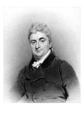 Sydney Smith, Engraved by Samuel Freeman, 1817 (Engraving) Giclee Print by John Wright