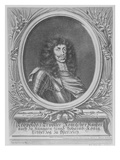 Leopold I, Holy Roman Emperor, Engraved by Bartholomaus Kilian Ii, 1674 (Engraving) Giclee Print by Sebastian van Dryweghen