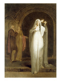 The Sleepwalking Scene, Act V, Scene I, from 'Macbeth', by William Shakespeare (1564-1616) Giclee Print by Henry Pierce Bone