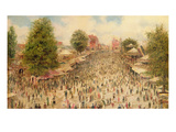 Mitcham Fair (Oil on Canvas) Giclee Print by John Glynn