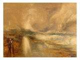 Rockets and Blue Lights, 1855 (Chromolitho) Giclee Print by J. M. W. Turner