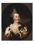Portrait of Catherine Ii, 1782 Giclee Print by Richard Brompton