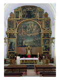 Elijah Altarpiece Giclée-Druck von Juan de Valdes Leal
