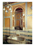 La Paiva's Bathroom at the Hotel De Paiva (Photo) Giclee Print by  French Photographer