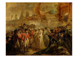 The Surrender of the Two Sons of Tipu Sahib (1749-99), Sultan of Mysore, to Sir David Baird, C.1800 Giclee Print by Henry Singleton