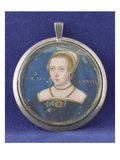 Portrait of a Lady, Possibly Lady Jane Grey, C.1545-47 (Bodycolour on Card) Giclee Print by Lievine Teerlink