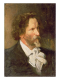 Portrait of Ilja Repin (1844-1930), 1902 Giclee Print by Boris Mikhailovich Kustodiev