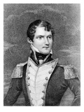Captain John Dundas Cochrane, Engraved by Henry Meyer, C.1824 (Engraving) Giclee Print by George Perfect Harding