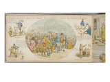 Fair of All Nations (Hand Coloured Engraving) Giclee Print by George Augustus Sala