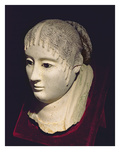 Head of a Woman (Painted Stucco) Giclee Print by  Egyptian