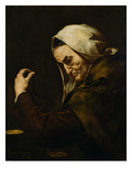 The Old Usurer, 1638 Giclee Print by Jusepe de Ribera