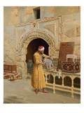 The Furniture Maker Giclee Print by Ludwig Deutsch