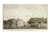 Le Port Des Francais, Alaska, from 'Voyage De La Perouse', July 1786 Giclee Print by Lieutenant Blondela