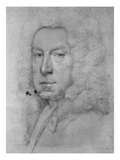 Self Portrait, C.1738 (Chalk on Paper) Giclee Print by Jonathan Richardson