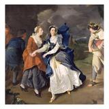 Mrs Cibber (1714-66) as Cordelia, 1755 Giclee Print by Pieter van Bleeck