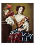 Mary of Modena (1658-1718), C.1680 (Oil on Canvas) Giclee Print by Simon Peeterz Verelst