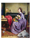 Lord, Thy Will Be Done, 1855 (Oil on Canvas) Giclee Print by Philip Hermogenes Calderon