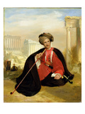 Charles Lennox Cumming, 1817 (Oil on Panel) Giclee Print by Andrew Geddes
